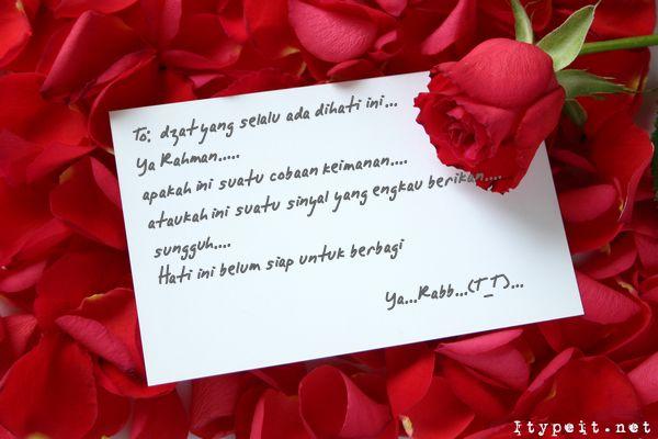 Surat Cinta Untuk Calon Istri Di Masa Depan Satyanewspro